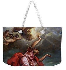 Saint John The Evangelist On Patmos Weekender Tote Bag