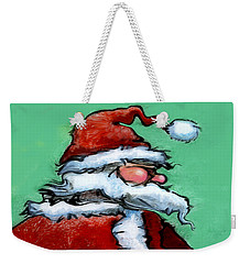 Santa Claus Weekender Tote Bag by Kevin Middleton