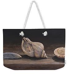 3 Seashells Weekender Tote Bag