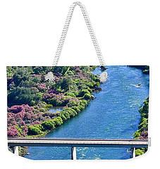 Shasta Dam Spillway Weekender Tote Bag