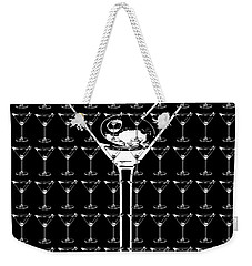 So Many Martinis So Little Time Weekender Tote Bag