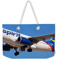 Spirit Airline Weekender Tote Bag