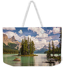 Weekender Tote Bag featuring the photograph Spirit Island by Mark Mille