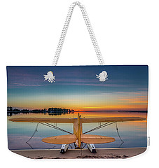 Splash-in Sunrise  Weekender Tote Bag