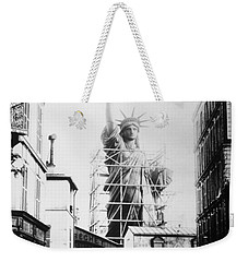 Weekender Tote Bag featuring the photograph Statue Of Liberty, Paris by Granger