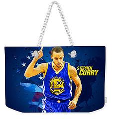 Stephen Curry Weekender Tote Bag by Semih Yurdabak