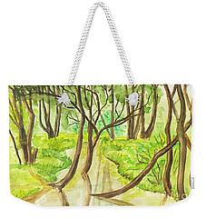 Summer Landscape, Painting Weekender Tote Bag