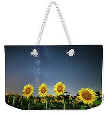 Sunflower Galaxy Iv Weekender Tote Bag
