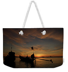 Sunrise On Koh Tao Island In Thailand Weekender Tote Bag