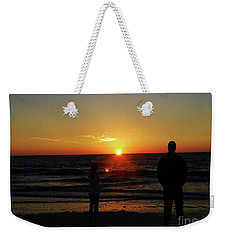 Weekender Tote Bag featuring the photograph Sunset In Paradise by Gary Wonning