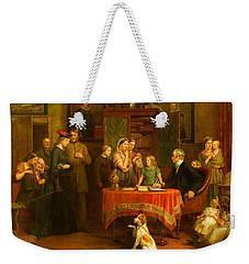 The Census Of April Weekender Tote Bag