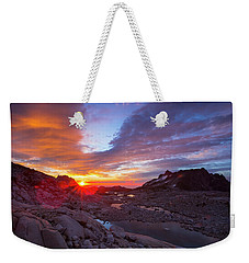 Weekender Tote Bag featuring the photograph The Enchantments by Evgeny Vasenev