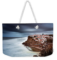 Weekender Tote Bag featuring the photograph Upcoming Storm by Jorge Maia