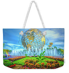The Unisphere Weekender Tote Bag