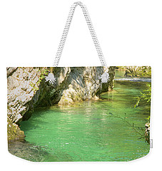 The Vintgar Gorge Weekender Tote Bag