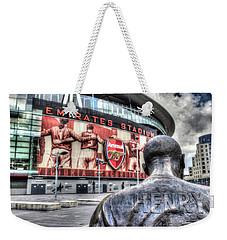 Thierry Henry Statue Emirates Stadium Weekender Tote Bag