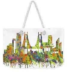 Tokyo Weekender Tote Bag by Rosalia Simunovic