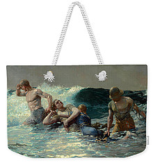 Undertow Weekender Tote Bag by Winslow Homer
