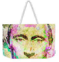 Vladimir Putin Weekender Tote Bag by Svelby Art