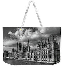 Westminster Palace Weekender Tote Bag by Pravine Chester