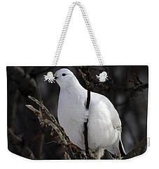 Willow Ptarmigan Weekender Tote Bag by Doug Lloyd