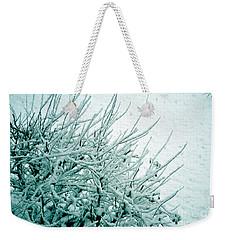 Weekender Tote Bag featuring the photograph Winter Wonderland In Switzerland by Susanne Van Hulst