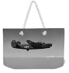 Wwii Us Aircraft In Flight Weekender Tote Bag
