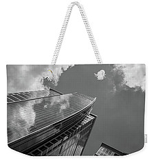 300 South Tryon In Black And White Weekender Tote Bag