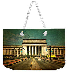 30th Street Station Traffic Weekender Tote Bag by Trish Tritz