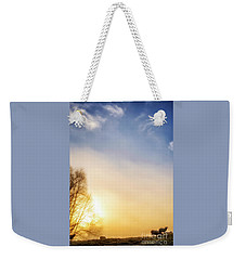 Weekender Tote Bag featuring the photograph Misty Mountain Sunrise by Thomas R Fletcher