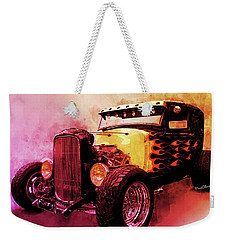 31 Model A Ford Fiery Watercolour Weekender Tote Bag