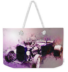 32 Ford Low Boy Roadster Watercoloured Sketch Weekender Tote Bag