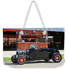 Weekender Tote Bag featuring the photograph 32 Roadster by Christopher McKenzie