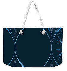 35 In Blue Weekender Tote Bag by John Krakora