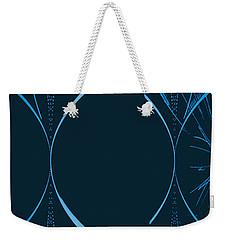 35 In Blue Weekender Tote Bag