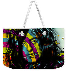 Jimmy Page Collection Weekender Tote Bag by Marvin Blaine
