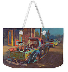 38' Ford In Jerome, Az Weekender Tote Bag