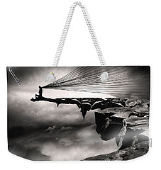 Weekender Tote Bag featuring the photograph No Title  by Mariusz Zawadzki
