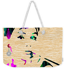 Audrey Hepburn Collection Weekender Tote Bag by Marvin Blaine