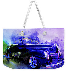 39 Mercury Convertible Watercolour Sketch Weekender Tote Bag