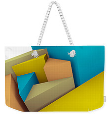3d Abstraction  Weekender Tote Bag