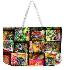 3d Cubist Weekender Tote Bag