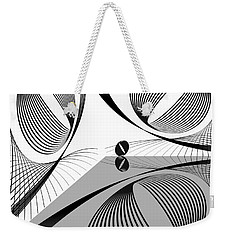 3d Opinion Weekender Tote Bag by Leo Symon