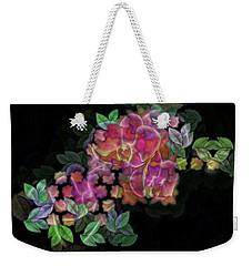 3d Orchids Weekender Tote Bag