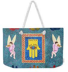 A Lesson In Symmetry Weekender Tote Bag by John Keaton