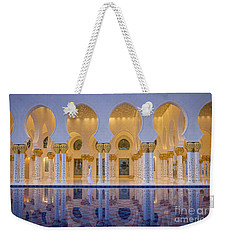 Weekender Tote Bag featuring the photograph Abu Dhabi by Milena Boeva