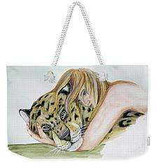 Anam Leopard Weekender Tote Bag