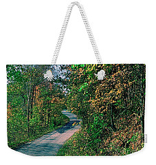 Weekender Tote Bag featuring the photograph Autumn Colors by Gary Wonning
