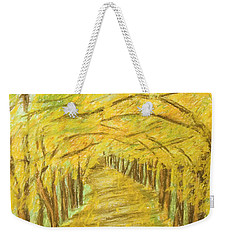 Autumn Landscape, Painting Weekender Tote Bag