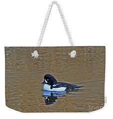 Barrow's Goldeneye Weekender Tote Bag